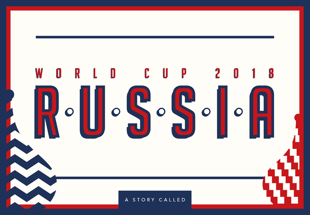 Russia 2018 World Cup Fixtures Chart